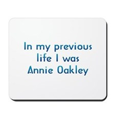 PL Annie Oakley Mousepad