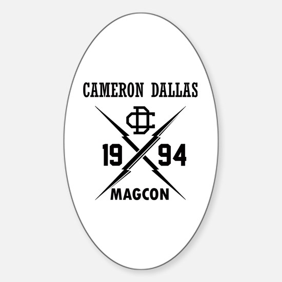 Cute Cameron Sticker (Oval)