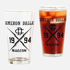 Cute Cameron Drinking Glass
