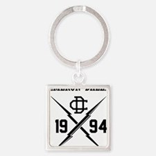 Cute Cameron Square Keychain