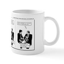 Businessmen Chatting Mug