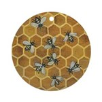 Honey Bees Keepsake Ornament