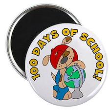 100 Days of School (Dog) Magnet