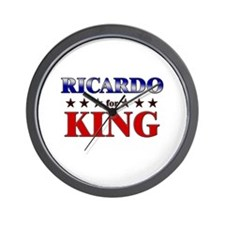 RICARDO for king Wall Clock