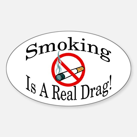 Real Drag Oval Decal