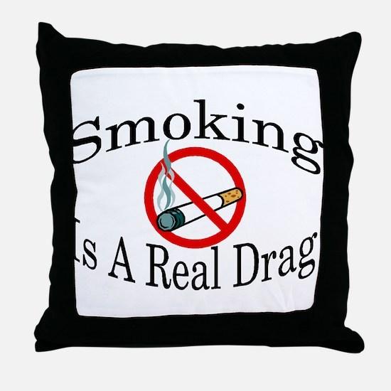 Real Drag Throw Pillow