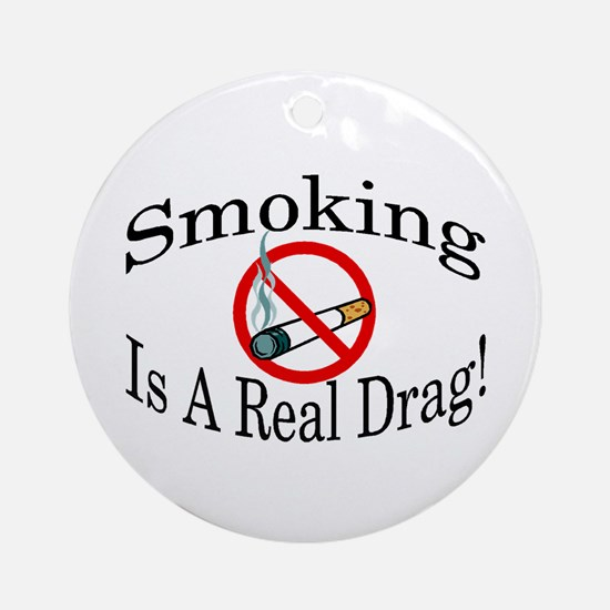Real Drag Ornament (Round)