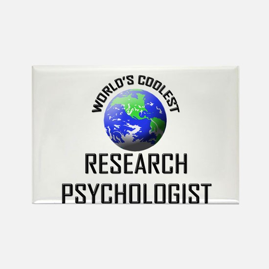 World's Coolest RESEARCH PSYCHOLOGIST Rectangle Ma