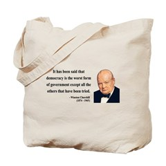 Winston Churchill 1 Tote Bag