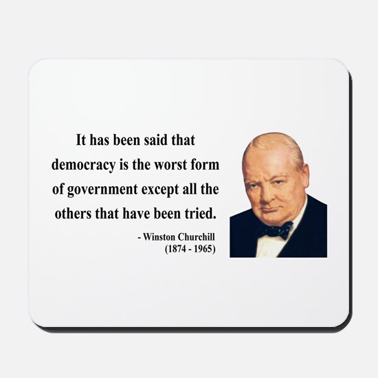 Winston Churchill 1 Mousepad