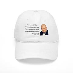 Winston Churchill 1 Baseball Cap