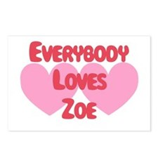 Everybody Loves Zoe Postcards (Package of 8)