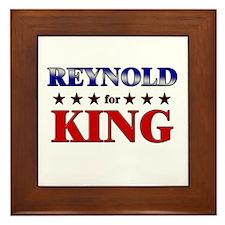 REYNOLD for king Framed Tile