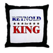 REYNOLD for king Throw Pillow