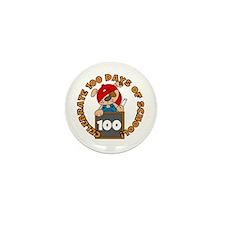 Celebrate 100 Days Mini Button
