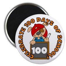 Celebrate 100 Days Magnet