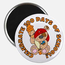 100 Days (Dog & Crayon) Magnet