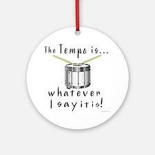 Tempo Ornament (Round)