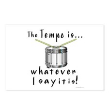 Tempo Postcards (Package of 8)