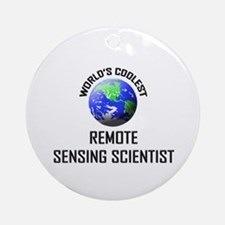 World's Coolest REMOTE SENSING SCIENTIST Ornament