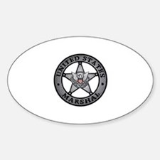 Marshall - Manhunter Oval Decal