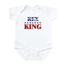 REX for king Infant Bodysuit