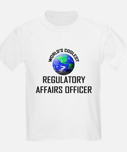 World's Coolest REGULATORY AFFAIRS OFFICER T-Shirt