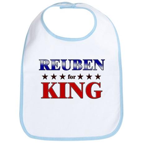 REUBEN for king Bib