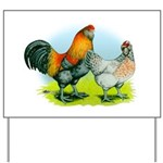 Ameraucana Chickens Yard Sign