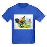 Ameraucana Chickens Kids Dark T-Shirt
