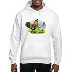Ameraucana Chickens Hooded Sweatshirt