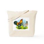 Ameraucana Chickens Tote Bag