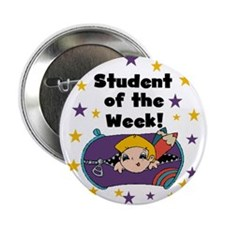 "Student of the Week 2.25"" Button"