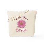 Bride Gerber Daisy Tote Bag