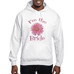 Bride Gerber Daisy Hooded Sweatshirt