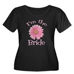 Bride Gerber Daisy Women's Plus Size Scoop Neck Da