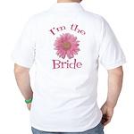 Bride Gerber Daisy Golf Shirt