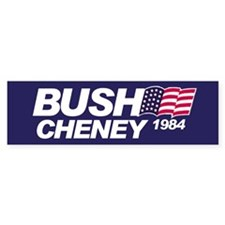 Buch/Cheney 1984 Bumper Bumper Sticker