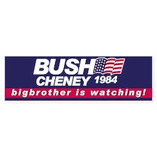 Bush Cheney 1984 Bumper Bumper Sticker