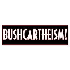 Bushcarthiesm Bumper Car Sticker