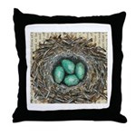 Crows Nest I Throw Pillow