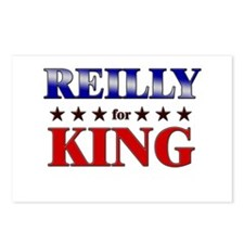 REILLY for king Postcards (Package of 8)