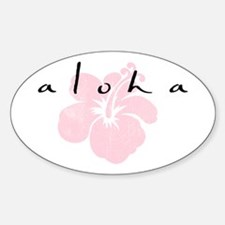 AloooHA Oval Decal