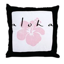 AloooHA Throw Pillow