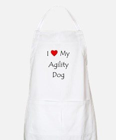 I Love My Agility Dog Apron