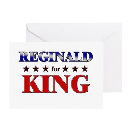 REGINALD for king Greeting Cards (Pk of 20)