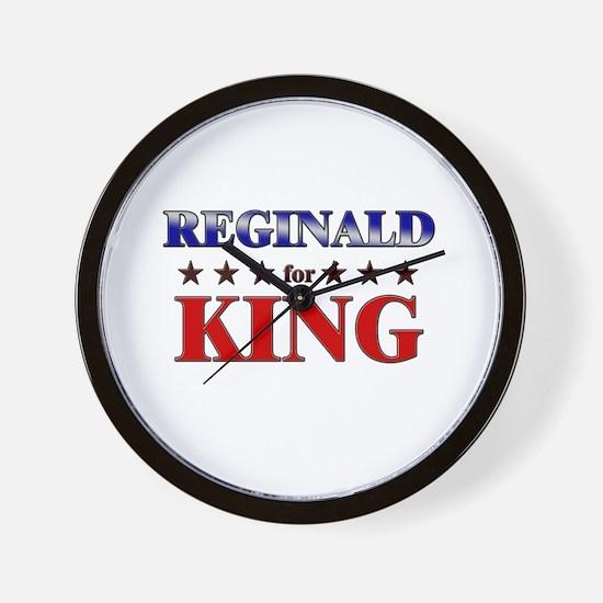 REGINALD for king Wall Clock