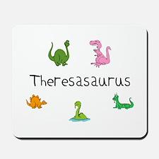 Theresaosaurus Mousepad