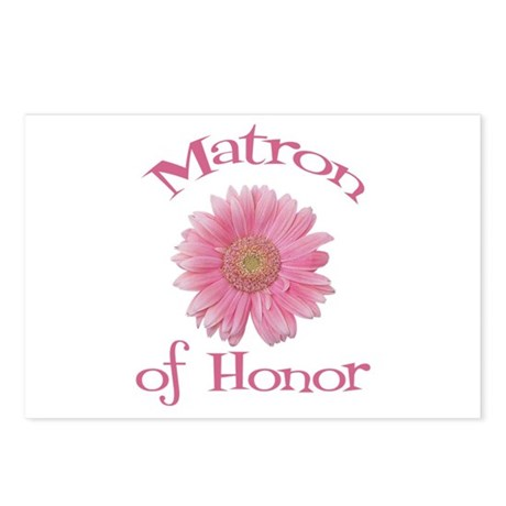 Daisy Matron of Honor Postcards (Package of 8)
