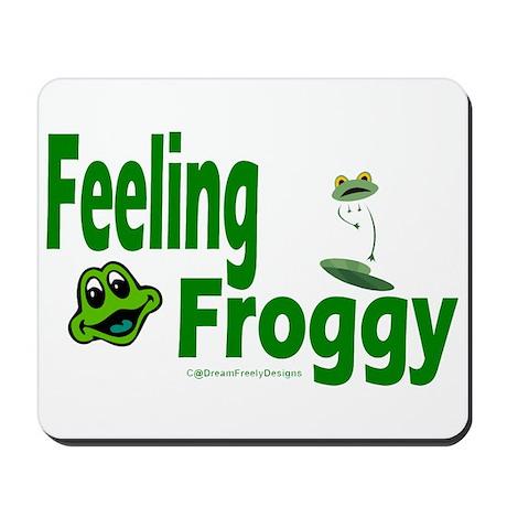 Feeling Froggy Mousepad
